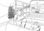 Asleep on a Bus (animation)