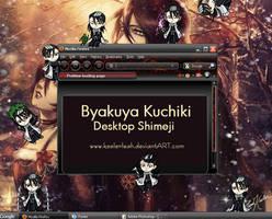 Bleach Byakuya Kuchiki Desktop Shimeji by keelerleah