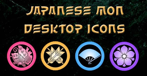 Japanese Mon Icons