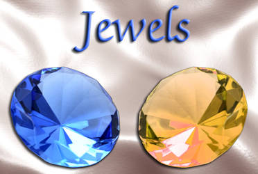 Blue and Topaz Jewels