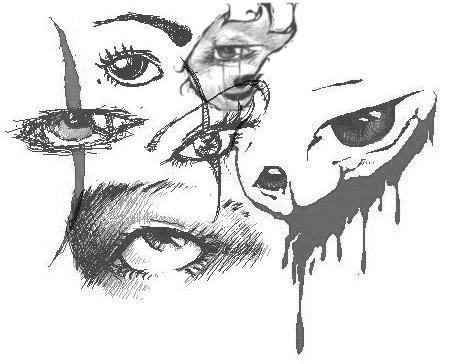 Eye Brushes by gothickitten55