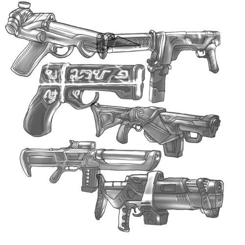 Guns by gothickitten55