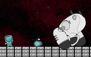 Anim Blob and Bot by DaveDonut