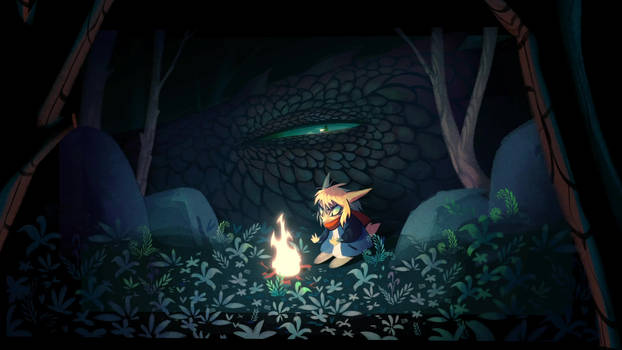 Sleeping Dragon (Animated)