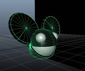 Deadmau5 3D Logo MAYA MODEL DOWNLOAD (.mb)