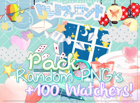 #1 Pack Png's +100 Watchers