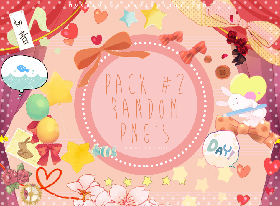 Pack #2 Random Png's by MochiUsUk