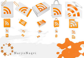 Paper feed icons by NarjisNaqvi