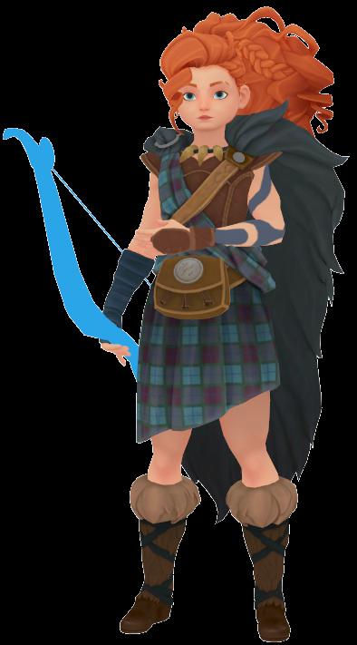 [MMD x Disney] Warrior Merida (+DL)