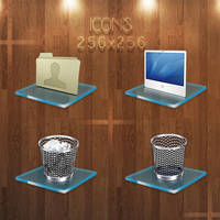 windows icon glass effect by markos040122