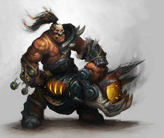 Warlord WoW Banner by ZafireHD