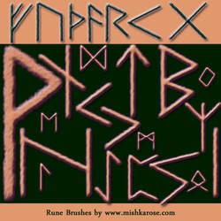 Rune Brushes By Mishka Rose