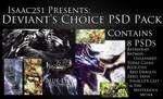 Deviant's Choice PSD Pack