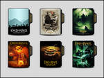The Lord Of The Rings Collection Folder Icon Pack by OMiDH3RO