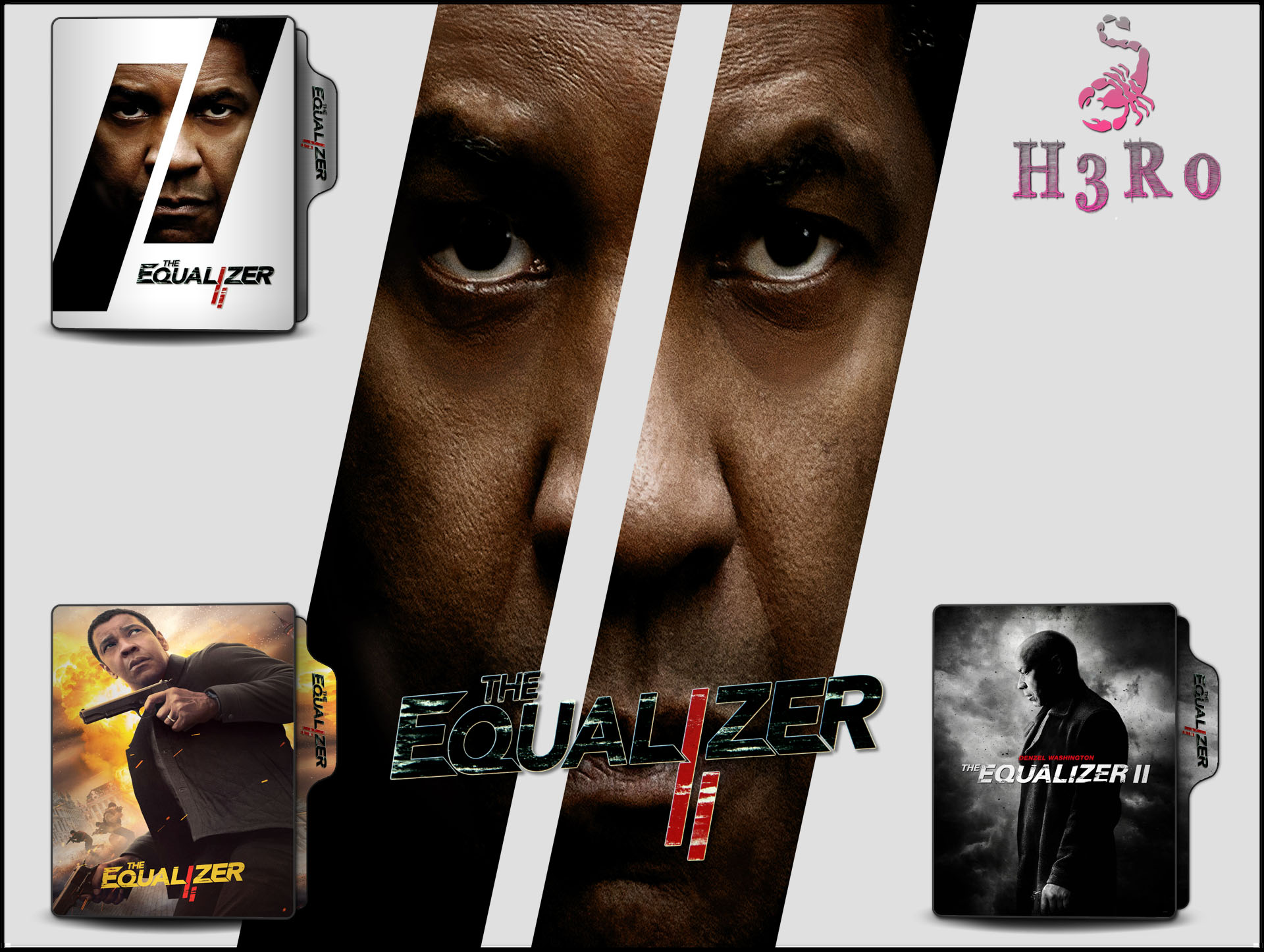 The Equalizer 2 2018 Folder Icon Pack By Omidh3ro On Deviantart