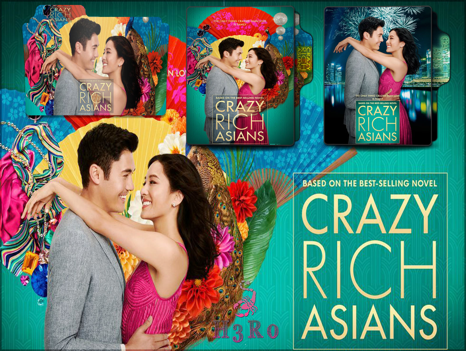 Crazy Rich Asians 2018 Folder Icon Pack By Omidh3ro On Deviantart