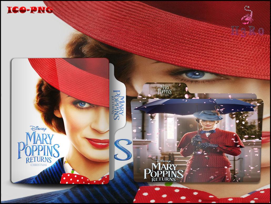 Mary Poppins Returns 2018 Folder Icon By Omidh3ro On Deviantart
