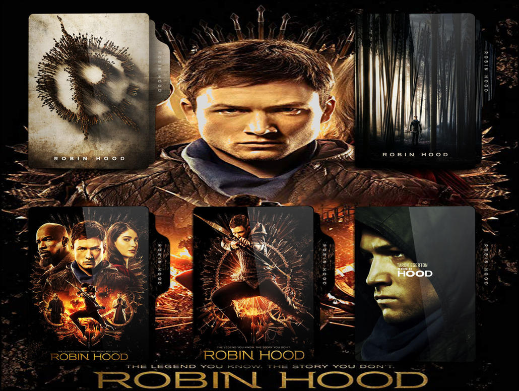 Robin Hood 2018 Folder Icon Pack By Omidh3ro On Deviantart