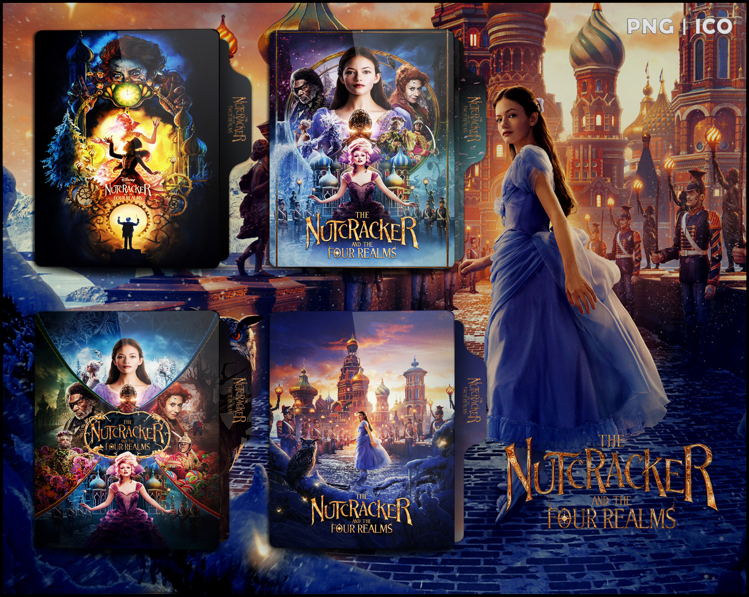 The Nutcracker And The Four Realms Folder Icon By Omidh3ro On Deviantart