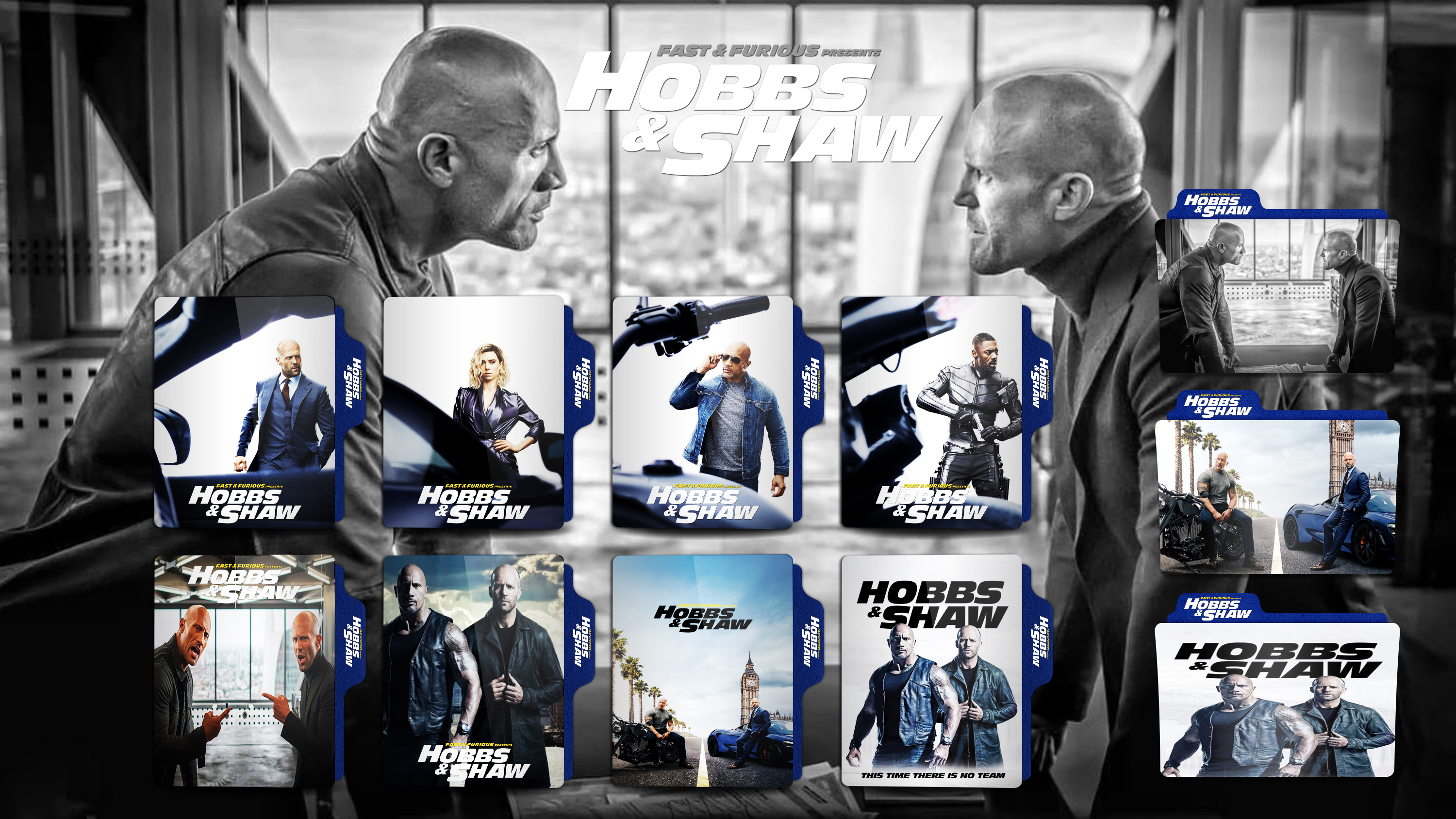 Hobbs And Shaw 2019 Folder Icon By Omidh3ro On Deviantart