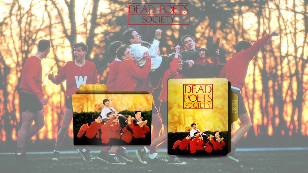 Dead Poets Society 1989 Folder Icon By Omidh3ro On Deviantart