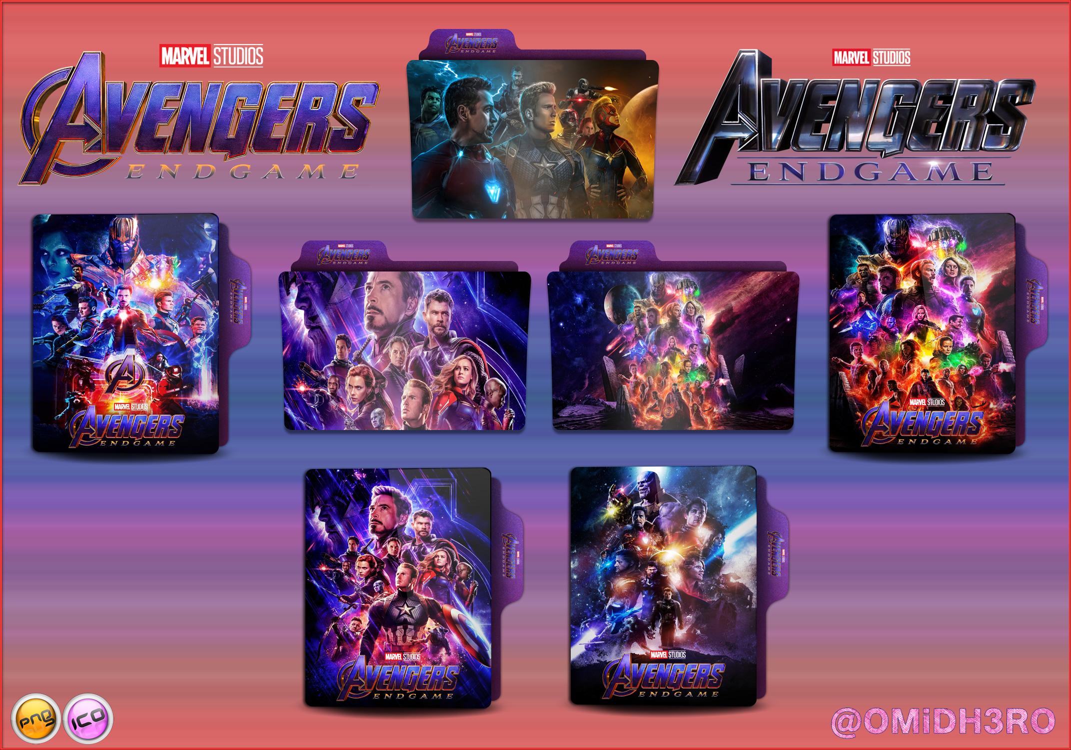 Avengers Endgame 2019 Folder Icon V3 By Omidh3ro On Deviantart