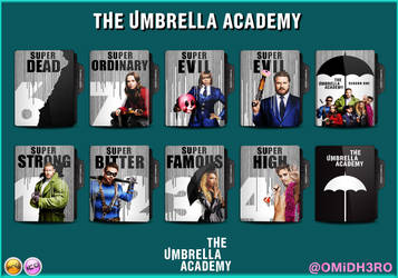 The Umbrella Academy Series Folder Icon Pack by OMiDH3RO
