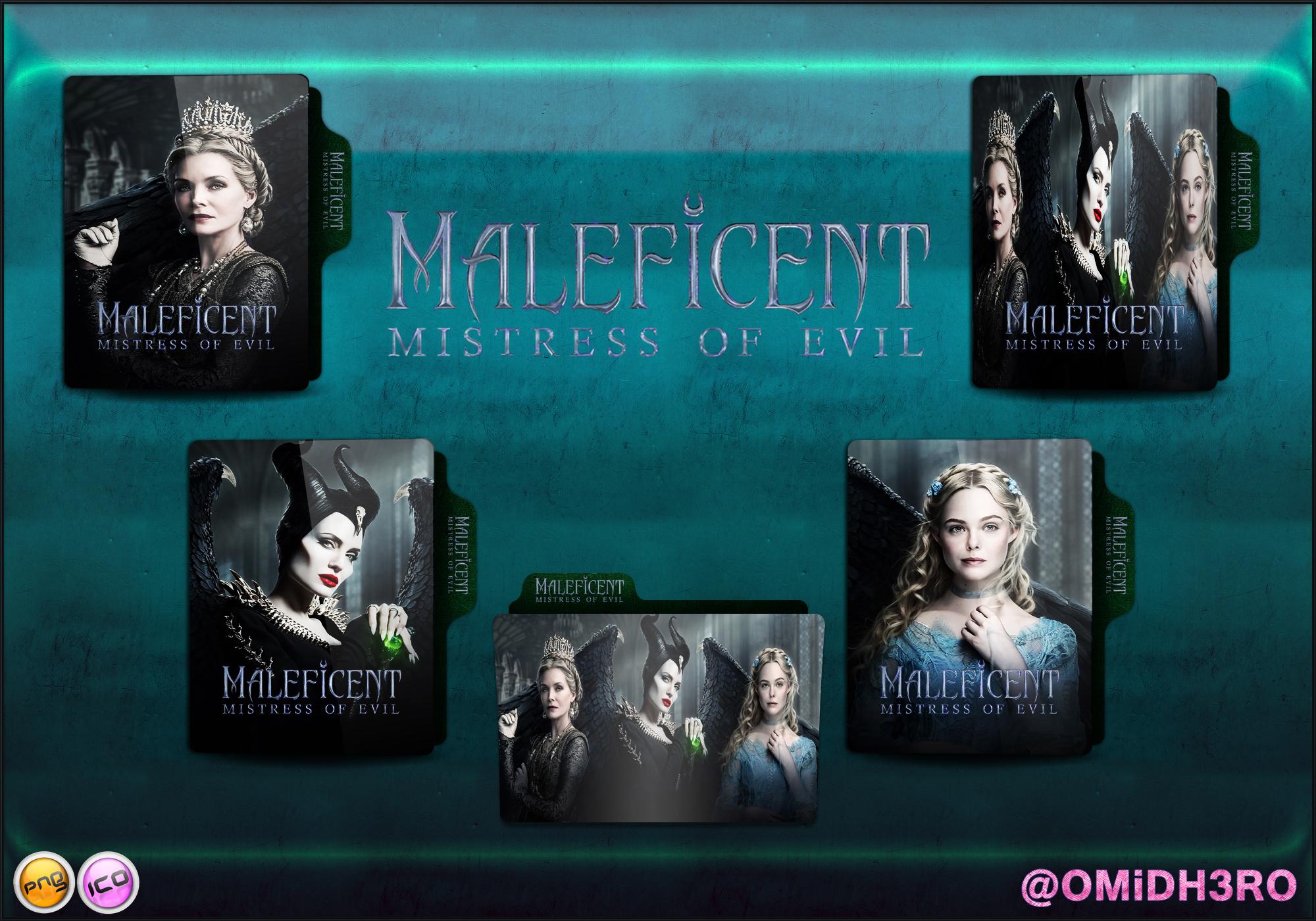 Maleficent Mistress Of Evil 2019 Folder Icon By Omidh3ro On Deviantart
