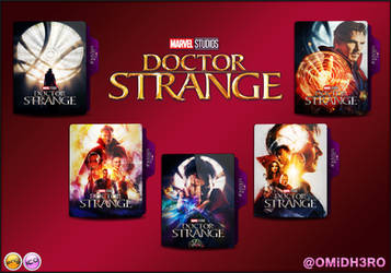 Doctor Strange (2016) Folder Icon by OMiDH3RO
