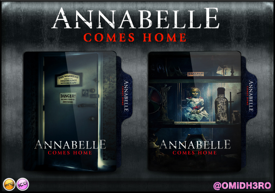 Annabelle Comes Home 2019 Folder Icon By Omidh3ro On Deviantart