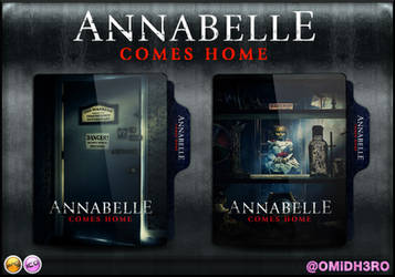 Annabelle Comes Home (2019) Folder Icon by OMiDH3RO