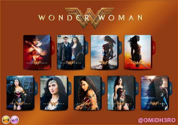 Wonder Woman (2017) Folder Icon V1 by OMiDH3RO