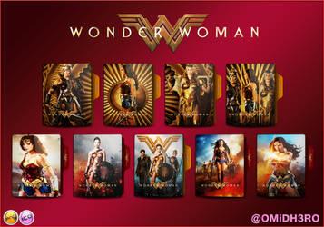 Wonder Woman (2017) Folder Icon V2 by OMiDH3RO
