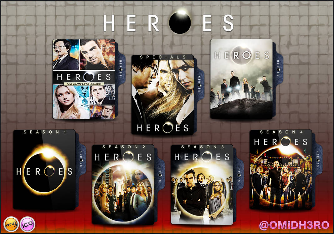 Heroes Folder Icon Pack by OMiDH3RO on DeviantArt