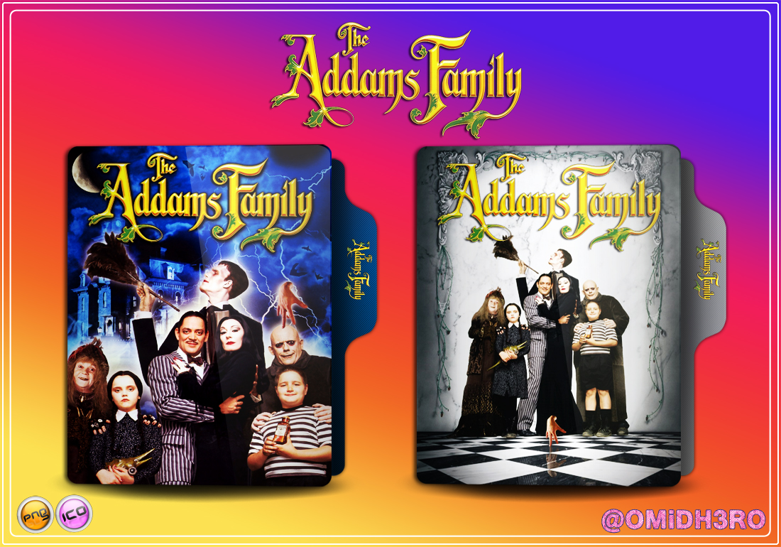 The Addams Family 1991 Folder Icon By Omidh3ro On Deviantart