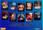 Star Wars - The Complete Saga Folder Icon by OMiDH3RO