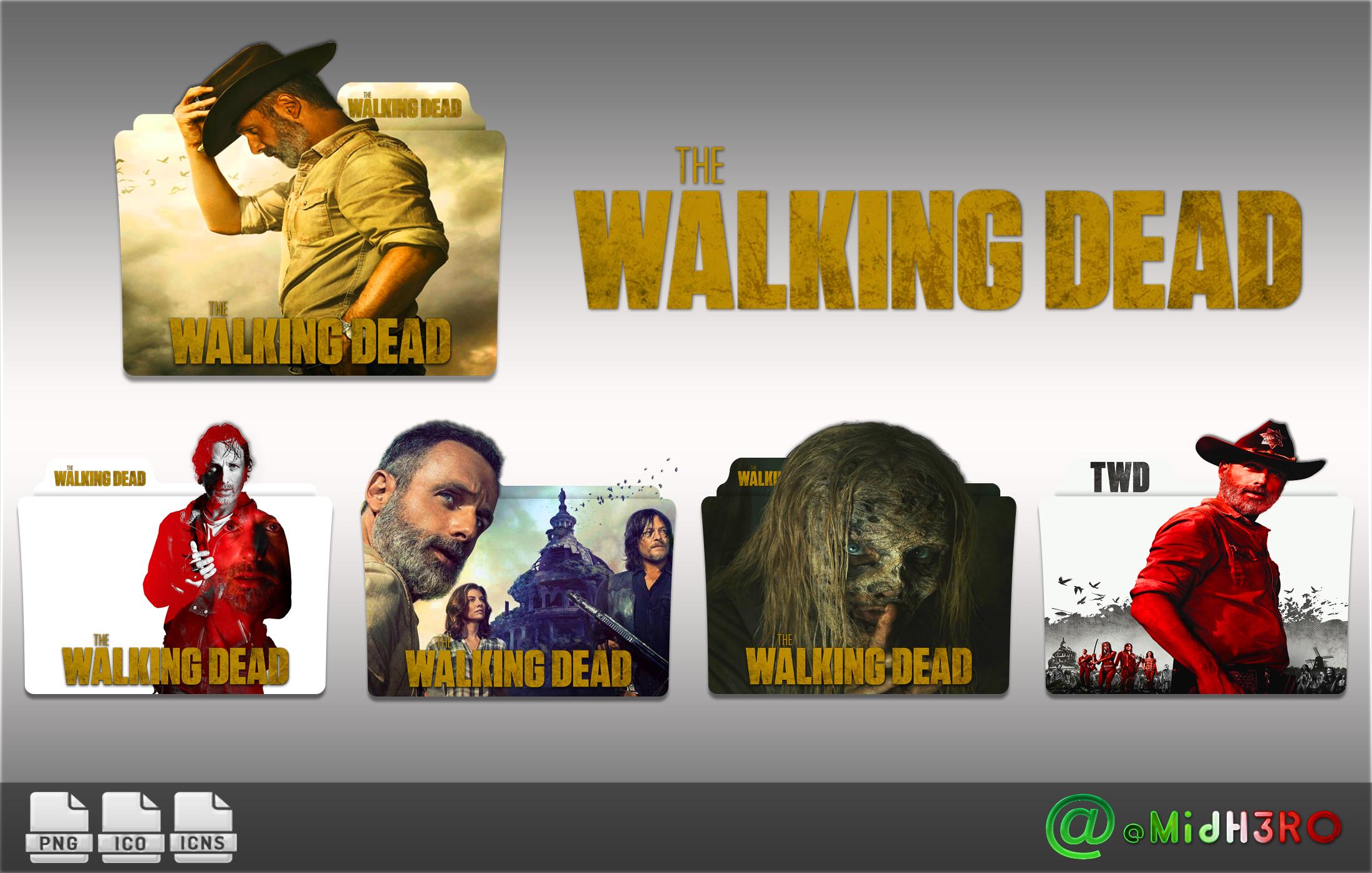 The Walking Dead Season 9 Folder Icon By Omidh3ro On Deviantart