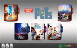 The Secret Life of Pets Collection Folder Icon by OMiDH3RO