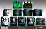 Maleficent Mistress of Evil Folder Icon by OMiDH3RO
