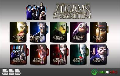 The Addams Family Folder Icon