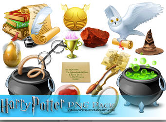 Harry Potter PNG Pack by EliasPotter