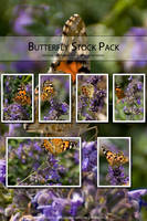 Butterfly Stock Pack by Theta-Scorpii