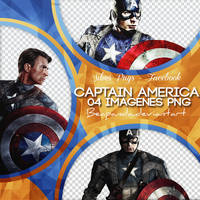 Pack Png 009 // Captain America by BEAPANDA