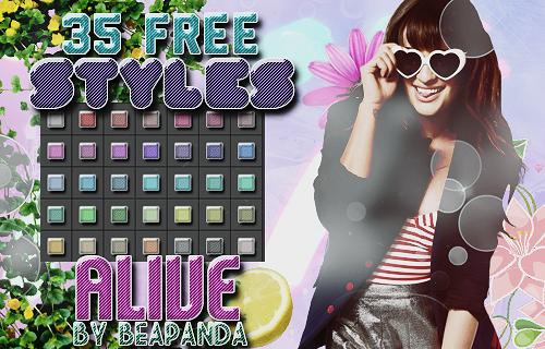 Styles 008 // Alive by BEAPANDA
