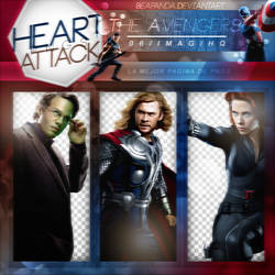 Pack Png 131 // The Avengers by BEAPANDA