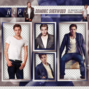Pack Png 355 // Dominic Sherwood