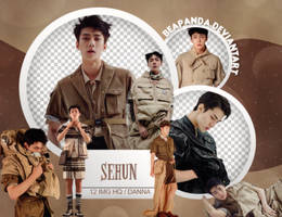 Pack Png 576 // Sehun (EXO) (Vogue Korea 2017)