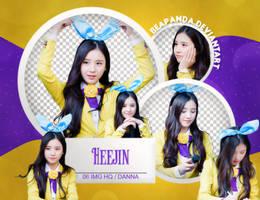 Pack Png #601 - HeeJin (LOONA) by BEAPANDA