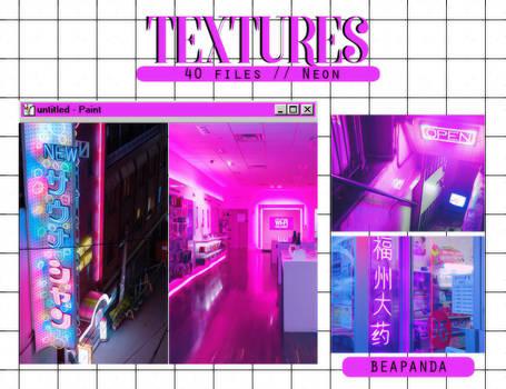 Textures 039 // Neon
