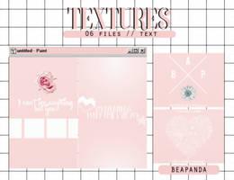 Textures 040 // (Pretty U) by BEAPANDA